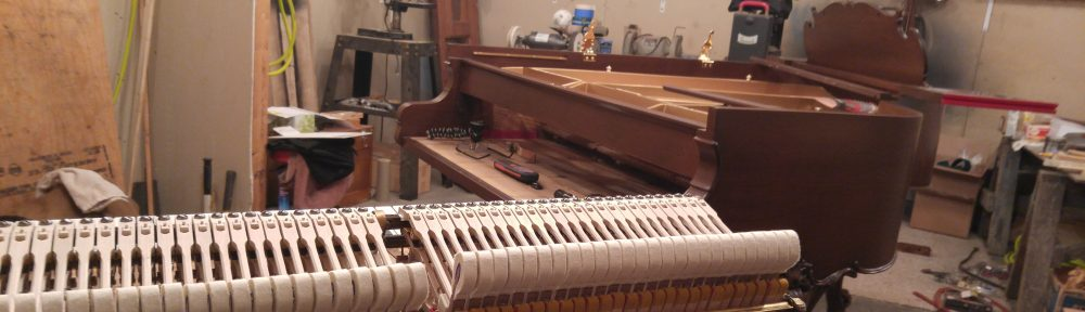 Rebuilt Steinway M Louis 1926 Action by Ace Piano of Metro Detroit Michigan.